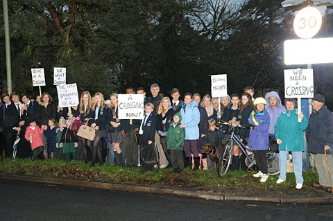 West Wickham campaigners hoping for Croydon Road pedestrian crossing