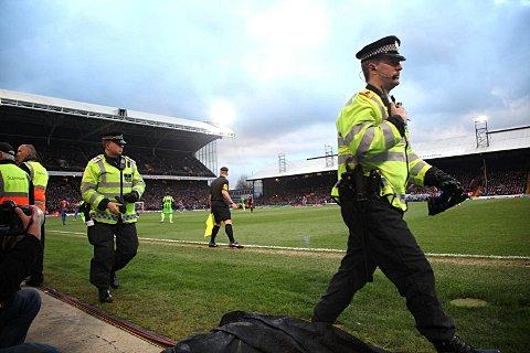 Arrests made following trouble at Crystal Palace v Charlton clash