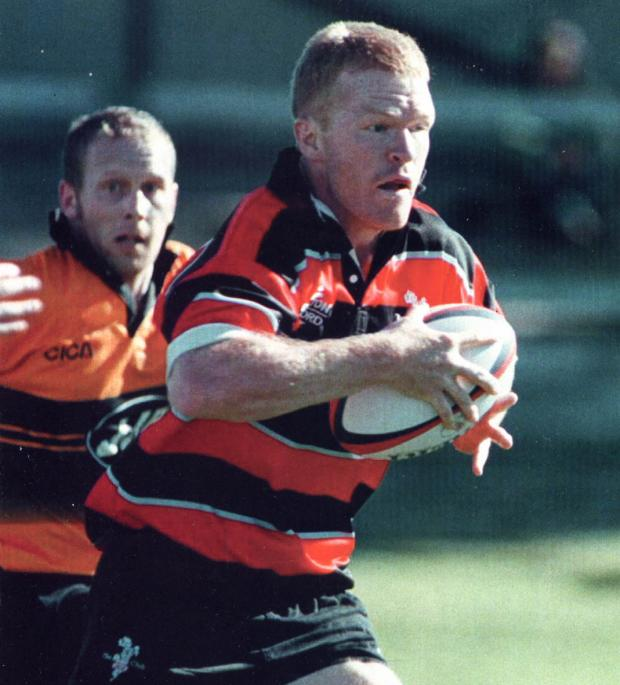 Former New Zealand full-back John Gallagher captained Blackheath in their last league meeting with Richmond.