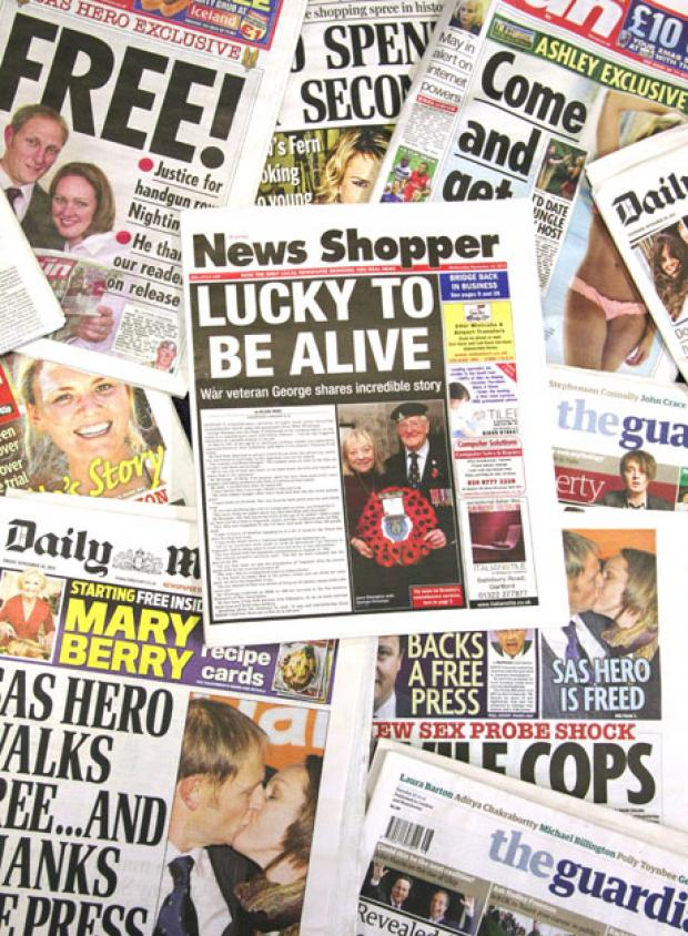 News Shopper: Don't blame regional newspapers such as News Shopper for the bad behaviour of some of the national press