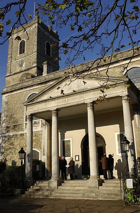 Lewisham's oldest building St Mary's Church in history project