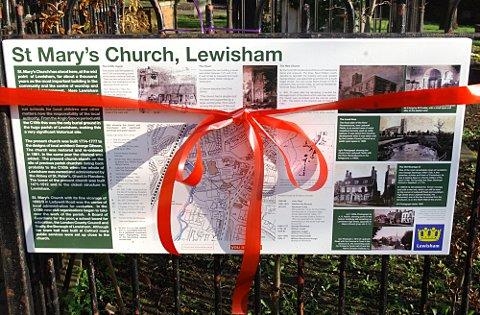 News Shopper: Lewisham's oldest building St Mary's Church in history project