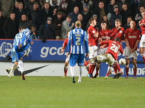 News Shopper: Kazenga Lualua pulls it back level to 2-2