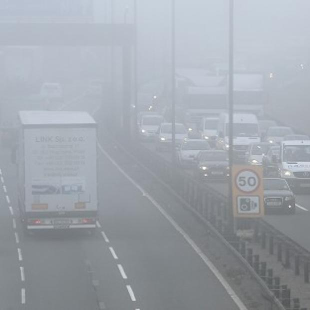 News Shopper: Motorists are being warned to be on their guard for widespread freezing fog