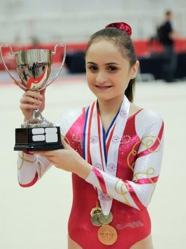 Gravesend gymnast and national disabilities champion Lauren Lethbridge.