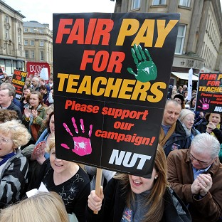 Head teachers could deduct the pay of members of the National Union of Teachers and NASUWT taking part in action short of a strike