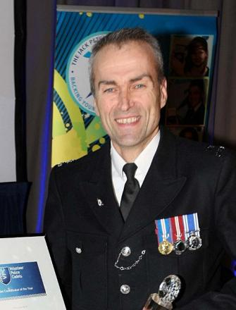Bromley cop PC Neil Tully gets Met Police award for police cadets work