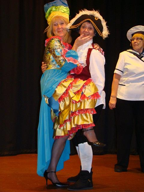 Am-dram group's annual pantomime sets sail for Beckenham for the first time