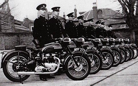 Policing back in the day