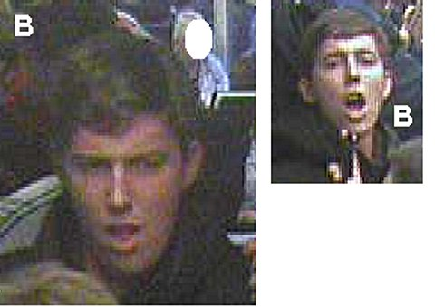 Police appeal: Suspected football fans cause havoc on crowded commuter train from London Bridge to Charlton