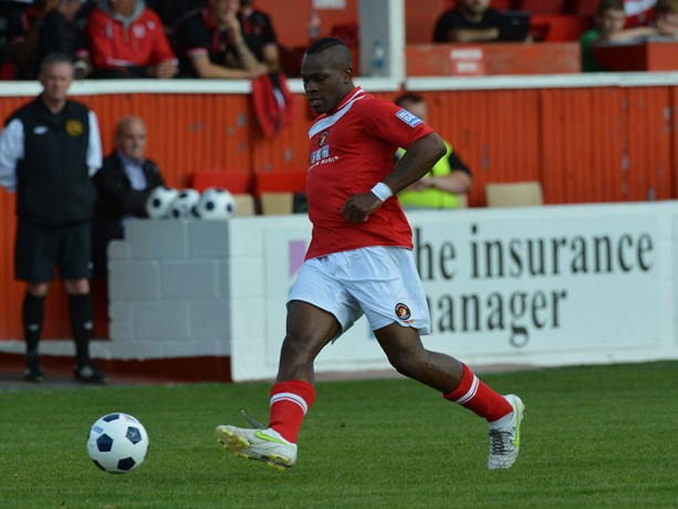 Patrick Ada has had his contract terminated at Ebbsfleet United after being convicted of rape (image courtesy of  Keith Gillard).