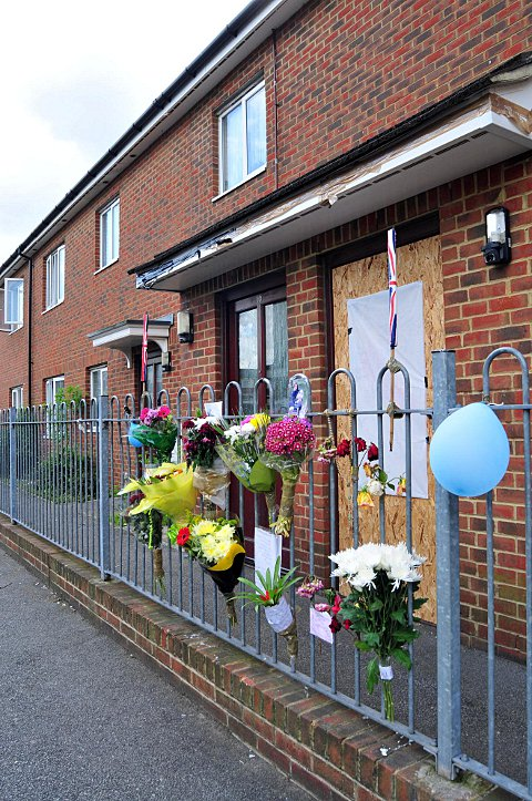 News Shopper: The scene of James Green's death