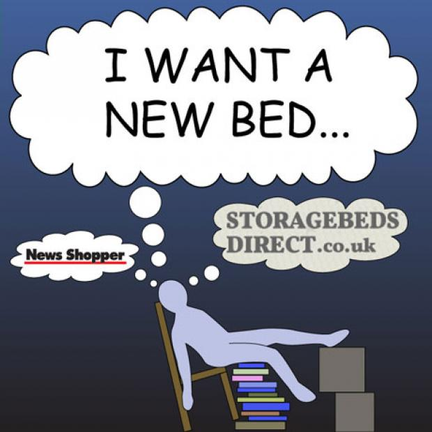 Win a £300 voucher to spend at Storage Beds Direct