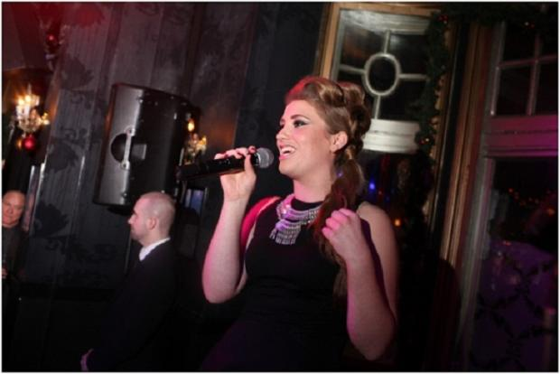 X Factor singer Ella Henderson performs in Chislehurst after signing record deal
