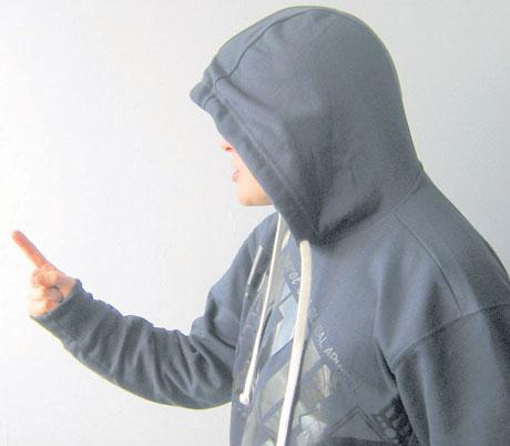 Those who wear hoodies often know and exploit the fear it inspires in members of the public