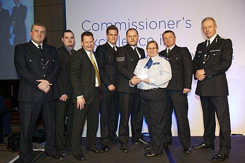 A New Cross policing team has won the Safer Neighbourhoods Team of the Year award for its crackdown on crime after scoring the most public votes.