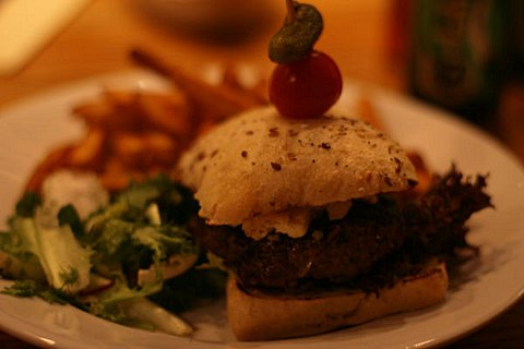 News Shopper: Chef's homemade gourmet burger