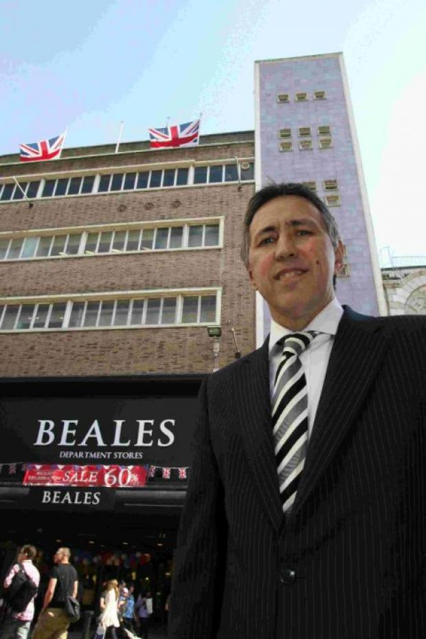 News Shopper: Tony Brown, Beales' chief executive officer has announced that around seven people will lose their jobs at the warehouse