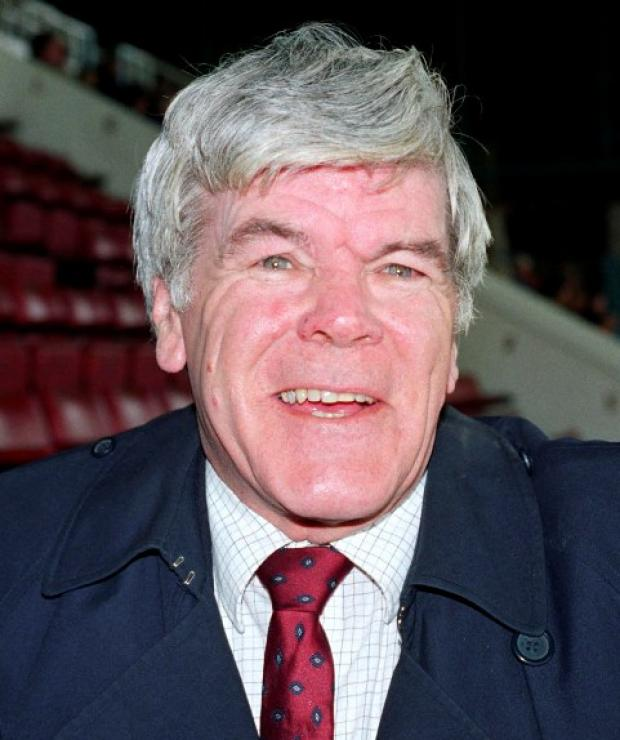 Charlton Athletic historian Colin Cameron. Pic taken by Tom Morris in 1992.