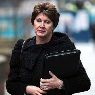 Chief Inspector April Casburn, 53, is accused of passing information to the News of the World