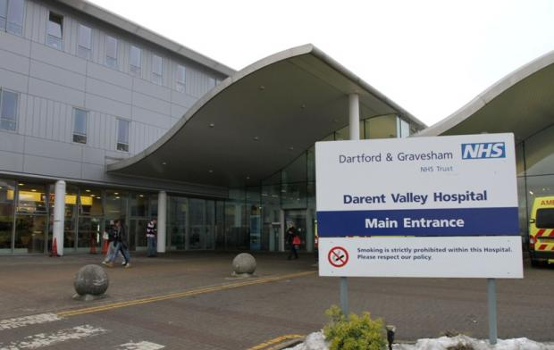 Darent Valley Hospital opened in September 2000.