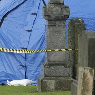 An exhumation of a gravesite in the search for the remains of schoolgirl Moira Anderson has begun