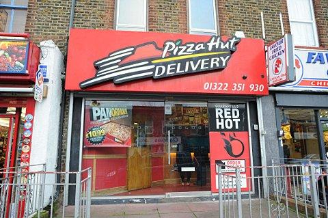 Pizza Hut in Bexley Road, Erith, has been rated zero for food hygiene.