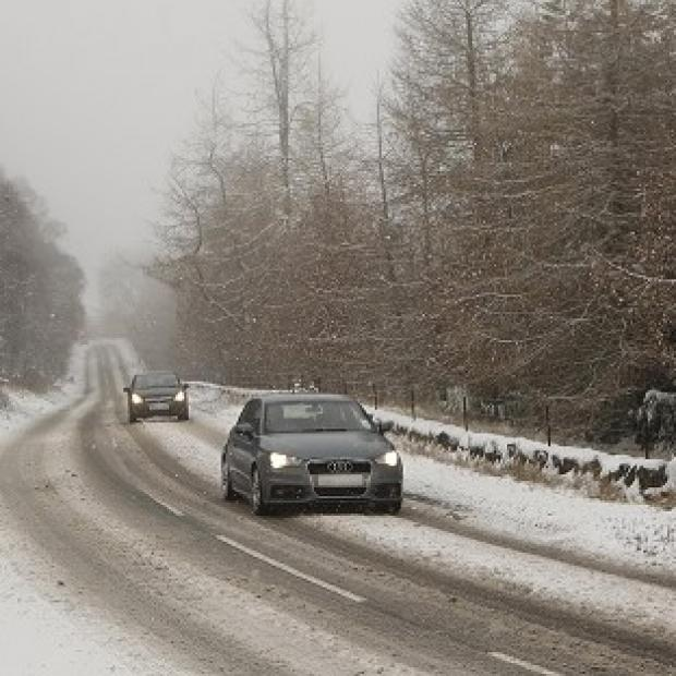 News Shopper: Scotland and the east coast of England will face the worst of the weather, but all parts of the UK could experience snowfall