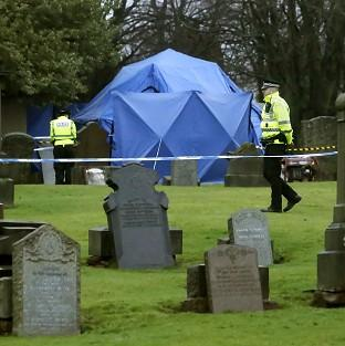 News Shopper: The remains of Moira Anderson have not been found during a search of a grave plot at Old Monkland Cemetery in Coatbridge