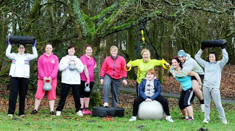 News Shopper: The bootcamp in Cutwood Park