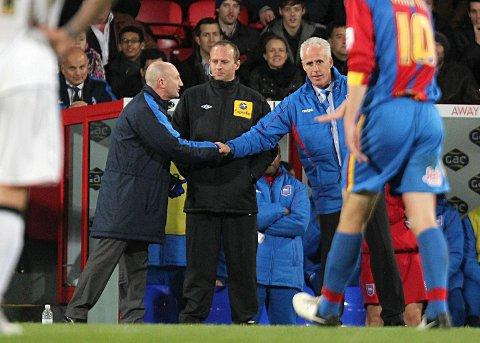 Ian Holloway faces competition from Ipswich boss Mick McCarthy (right) to sign DJ Campbell