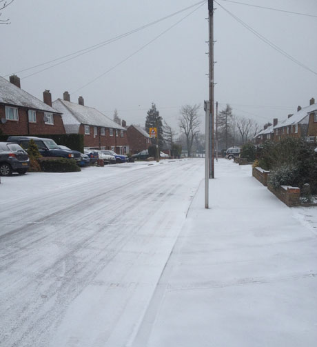 Snow in Orpington