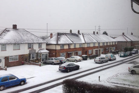 Snow in Welling