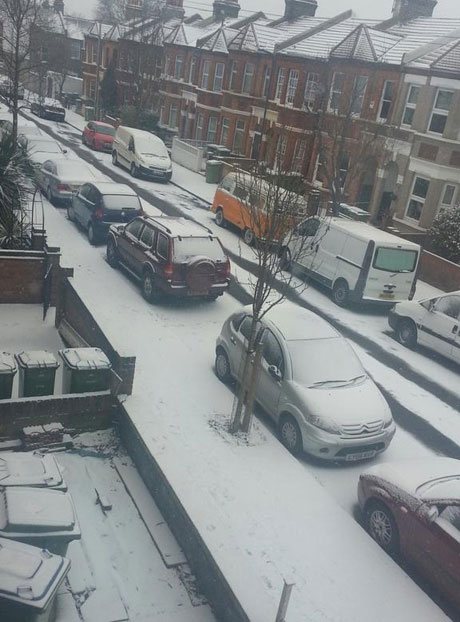 News Shopper: Snow in Plumstead