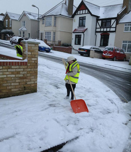News Shopper: Snow in Orpington