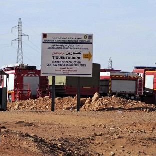 The In Amenas gas plant where the hostage crisis unfolded (AP/Anis Belghoul)