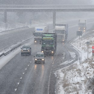 Schools and commuters hit by snow