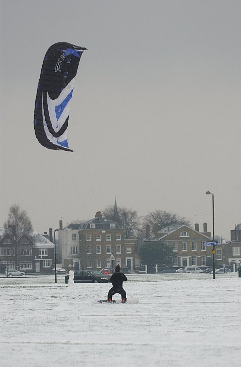 Snow in Blackheath