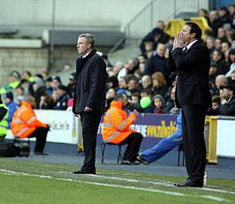 Kenny Jackett. PICTURE BY EDMUND BOYDEN.