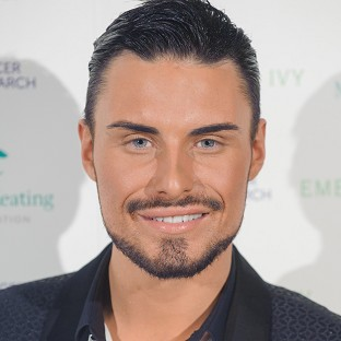 X Factor contestant Rylan Clark was filmed saying his hotel room was 'massive'