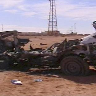 A scene from the aftermath of the hostage crisis at the remote Ain Amenas gas facility in Algeria (AP)