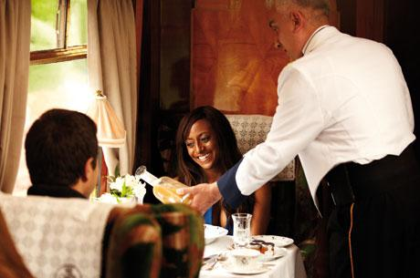 Win a Valentine's Day lunch aboard the British Pullman, sister train to the Venice Simplon-Orient-Express
