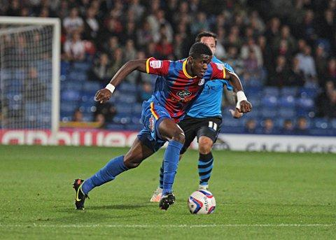 Wilfried Zaha will be playing Premier League football next season for Manchester United but can he help Crystal Palace win promotion first?  SP70344