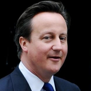 News Shopper: Prime Minister David Cameron says high speed rail could create 100,000 jobs