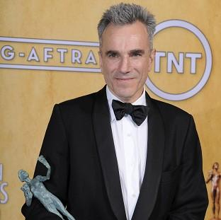 Daniel Day-Lewis bags Screen Actors Guild Award for Lincoln