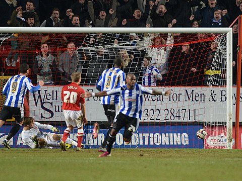 Sheffield Wednesday grab a late winner