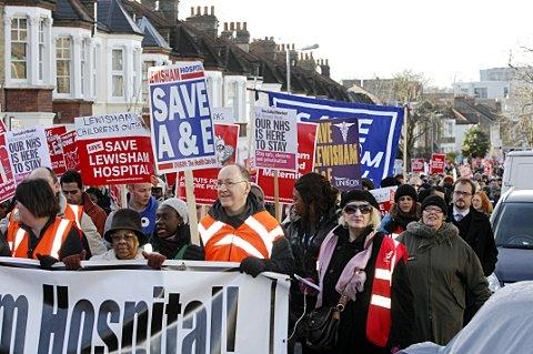 News Shopper: Lewisham Hospital: legal challenge fund grows as deadline approcahes
