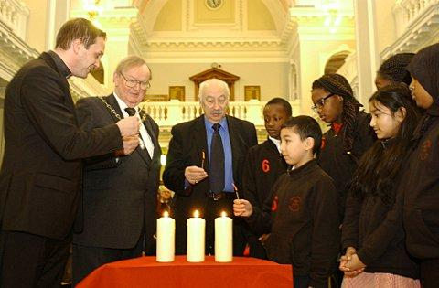 Greenwich Council commemorated the occasion