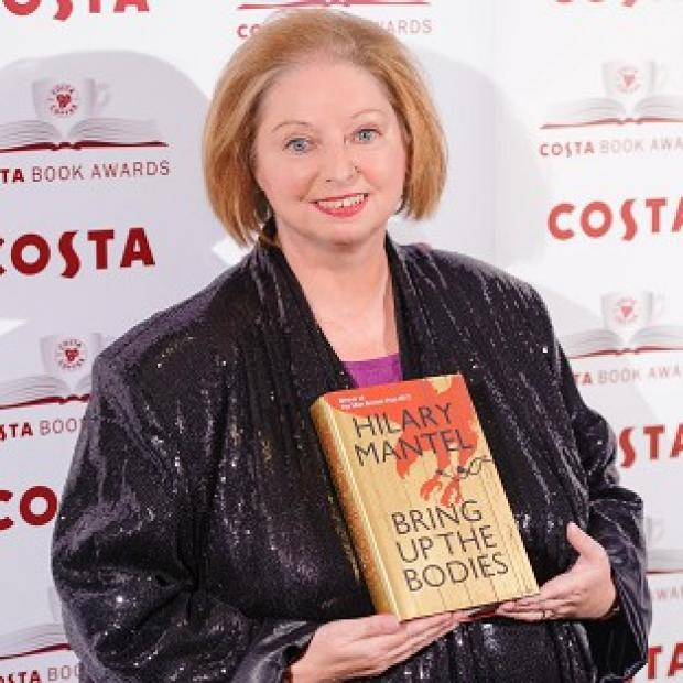 Author Hilary Mantel, winner of the Costa Novel Award for Bring Up The Bodies