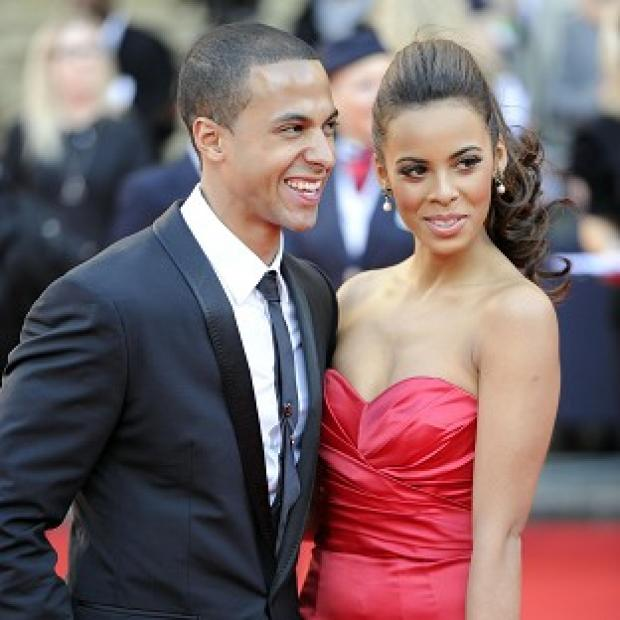 Marvin and Rochelle Humes are expecting their first child together